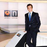 Álvaro Zancajo, presentador del 'Informativo de fin de semana' en Antena 3