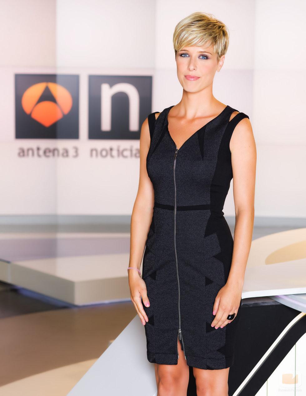 Maria José Sáez, presentadora de 'Las noticias de la mañana'