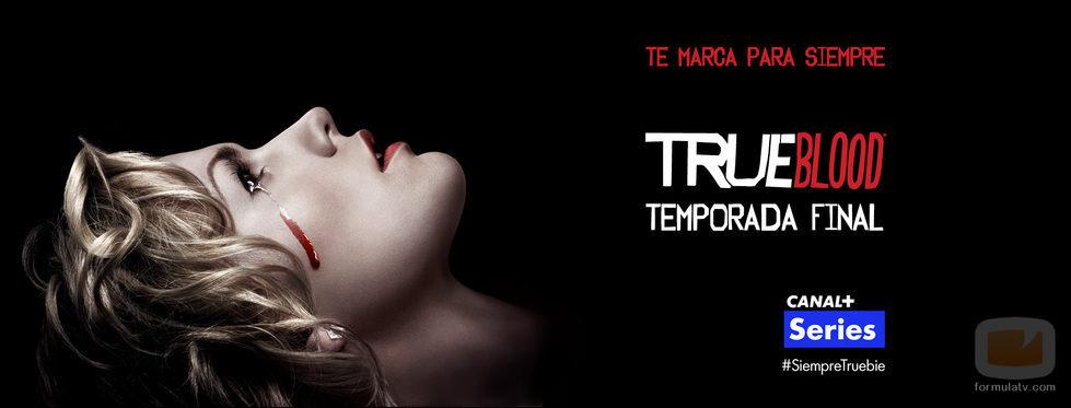 Cartel promocional de la última temporada de 'True Blood' en Canal+