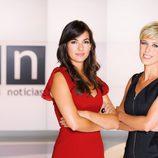 Esther Vaquero y Maria José Sáez, presentadoras de 'Las noticias de la mañana' en Antena 3