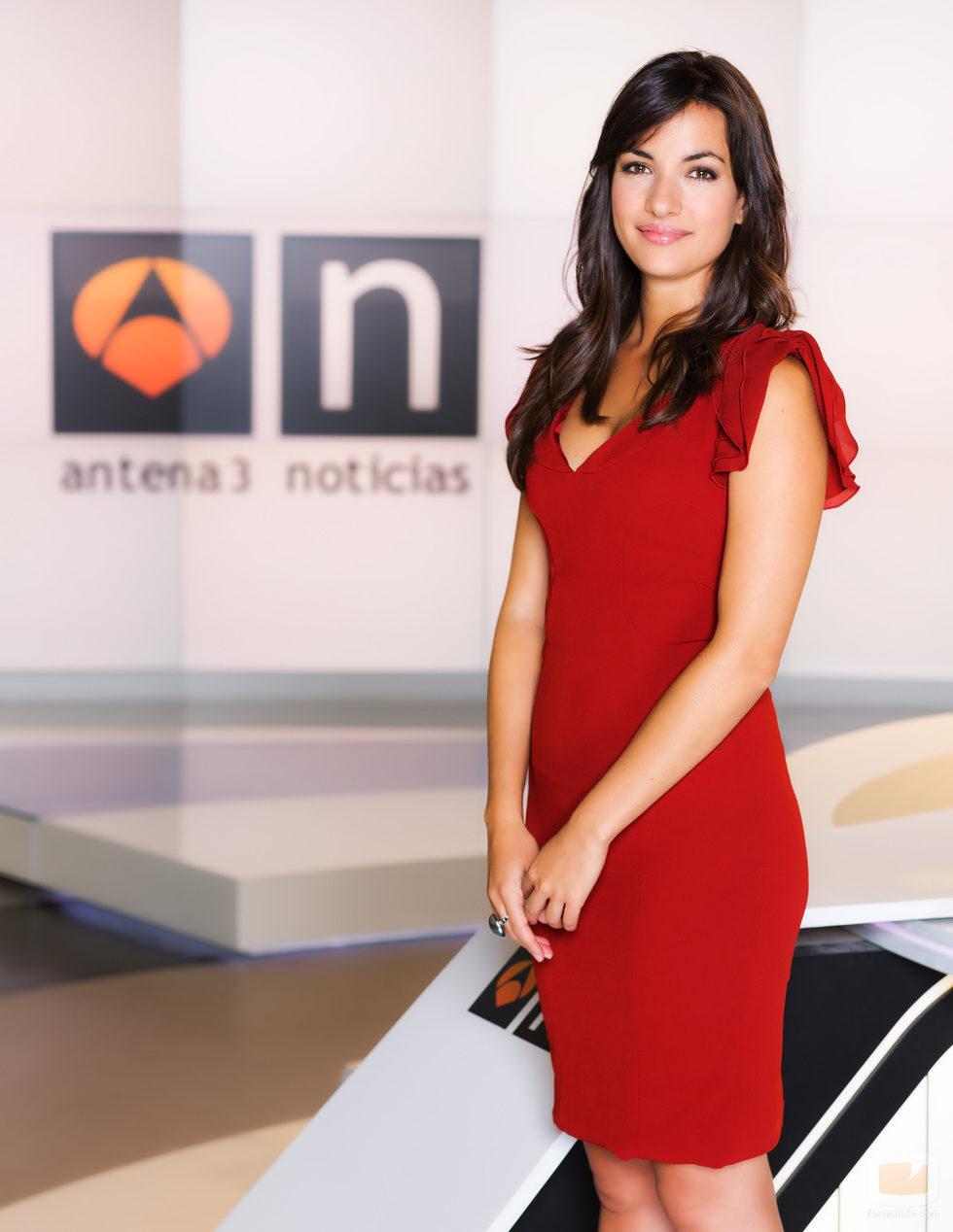 Esther Vaquero, presentadora de 'Las noticias de la mañana' en Antena 3