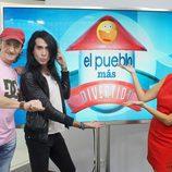 Eduardo Gómez, Mario Vaquerizo y Melani Olivares, jurado de 'El pueblo más divertido' en La 1