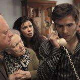 Toda la familia Alcántara pendiente del estado de salud de Toni en 'Cuéntame cómo pasó'