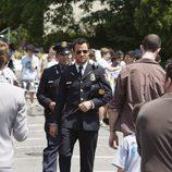 Justin Theroux interpreta al jefe de policía Kevin Garvey en 'The Leftovers'