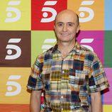 Pepe Viyuela posando en el final de 'Aida'