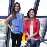 María Gracia y Noelia López Boluda, presentadoras de 'Aquí en Madrid' y 'Más Madrid respectivamente