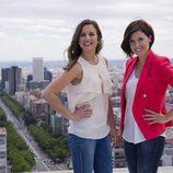 María Gracia y Noelia López Boluda, presentadoras de los magacines de Telemadrid