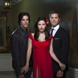 Daniel Di Tomasso, Jenna Dewan-Tatum y Eric Winter de 'Las brujas de East End'