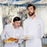 Jesús Bonilla y Santi Millán en 'Chiringuito de Pepe'