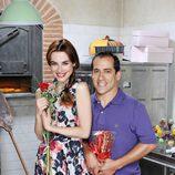 El Langui y Begoña Maestre en 'Chiringuito de Pepe'