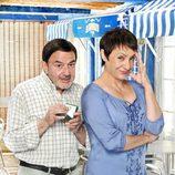 Jesús Bonilla y Blanca Portillo en 'Chiringuito de Pepe'