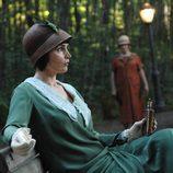 Julia Ormond vestida de época en 'Las brujas de East End'