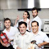 Los cocineros de 'Chiringuito de Pepe'