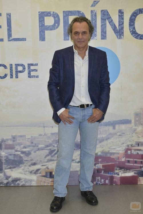 José Coronado durante la rueda de prensa de la segunda temporada de 'El príncipe'