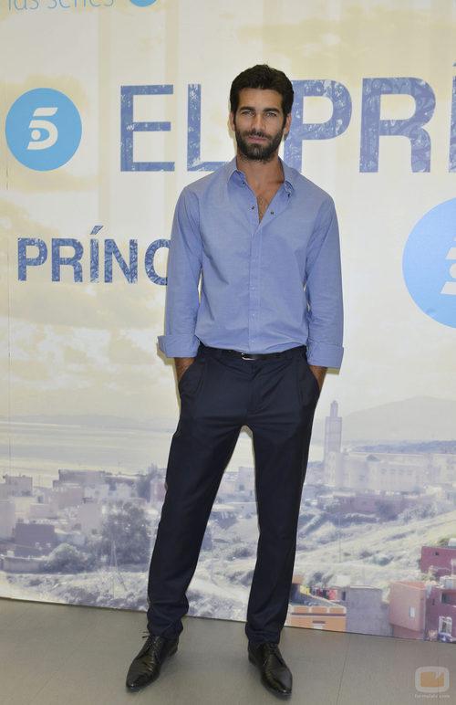 Rubén Cortada en la presentación de la nueva temporada de 'El príncipe'
