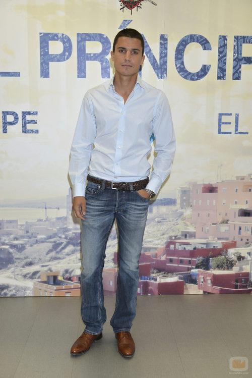 El protagonista de 'El príncipe, Álex González, durante la presentación de la nueva temporada
