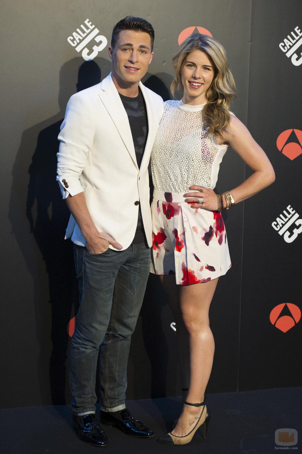 Colton Haynes y Emily Bett Rickards ('Arrow') visitan Madrid