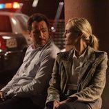 Demián Bichir y Diane Kruger en la segunda temporada de 'The Bridge'