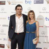 Pablo Chiapella y Eva Isanta en los Premios Iris 2014