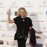 Mayra Gómez Kemp en los Premios Iris 2014