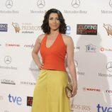 Alicia Borrachero en los Premios Iris 2014