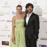 Michelle Jenner y Rodolfo Sancho en los Premios Iris 2014