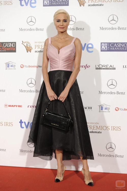 Juncal Rivero en los Premios Iris 2014