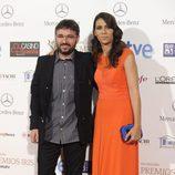 Jordi Évole y Ana Pastor en los Premios Iris 2014