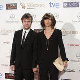 Javier Collado en los Premios Iris 2014