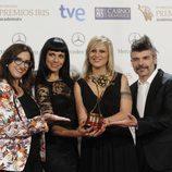 'Tu cara me suena', Premio Iris 2014 a mejor maquillaje, peluquería y caracterización