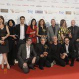 'El tiempo entre costuras', la gran triunfadora de los Premios Iris 2014