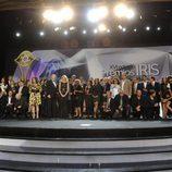 Los galardonados en los Premios Iris 2014
