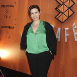 Llum Barrera en la inauguración de Atresmedia Café