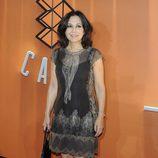 Isabel Gemio en la inauguración de Atresmedia Café