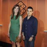 Mamen Mendizábal y Manuel Marlasca en la inauguración de Atresmedia Café