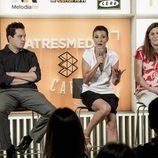 Presentación en Atresmedia Café de la cuarta temporada de 'El club de la comedia'
