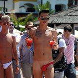 Bobby Cole y Harry Derbridge de 'The Only Way Is Essex' en Marbella