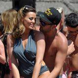 Ricky Rayment y Jessica Wright bailando en Marbella