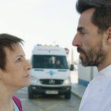 Blanca Portillo y Santi Millán en 'Chiringuito de Pepe'