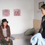 Fernanda y Amparo en el capítulo