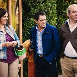 Chus, Paulino y José Luis en 'Con el culo al aire'