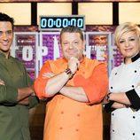 Yayo Daporta, Alberto Chicote y Susi Díaz, jueces de 'Top Chef 2'
