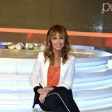 Emma García sentada en el plató de 'Ex, ¿qué harías por tus hijos?'