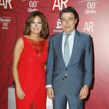 Ana Rosa Quintana e Ignacio González en la celebración del décimo aniversario de 'El programa de Ana Rosa'