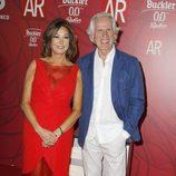 Ana Rosa Quintana y Giuseppe Tringali en la celebración del décimo aniversario de 'El programa de Ana Rosa'