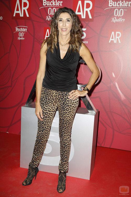 Paz Padilla en la celebración del décimo aniversario de 'El programa de Ana Rosa'