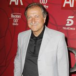 Paco Lobatón en la fiesta de celebración de los 10 años de 'El programa de Ana Rosa'