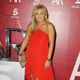 Cristina Tárrega en la fiesta por las 10 temporadas de 'El programa de Ana Rosa'