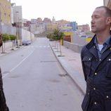Pedro García Aguado charla con un joven en El Príncipe