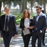 Jordi Rebellón, Lydia Bosch y MIguel Ángel Muñoz en 'Sin identidad'